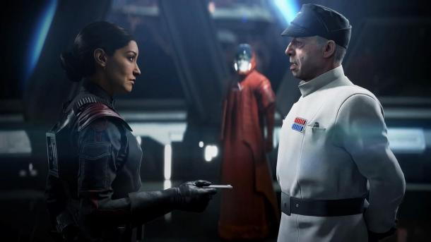 Отрывок сюжетной сцены из Star Wars Battlefront II Star Wars Battlefront II (2017)